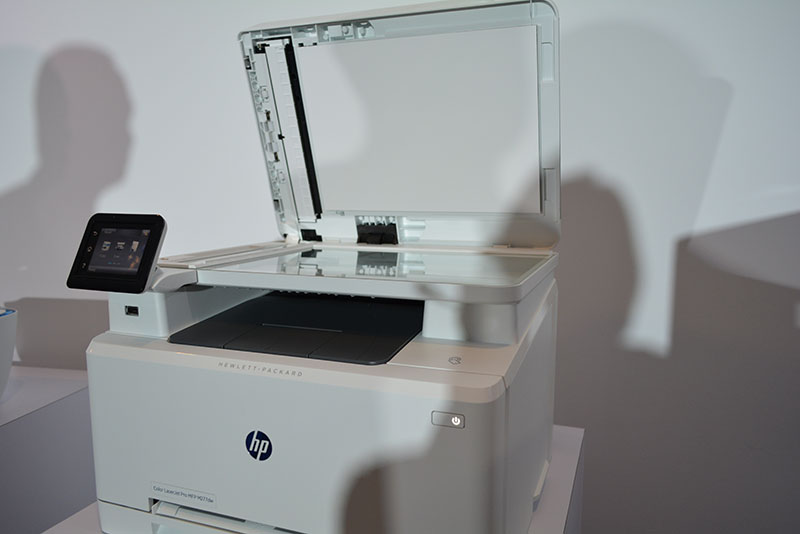 HP has managed to make its current generation of printers up to 40 percent smaller than their predecessors, a huge boon to space-constrained workplaces.