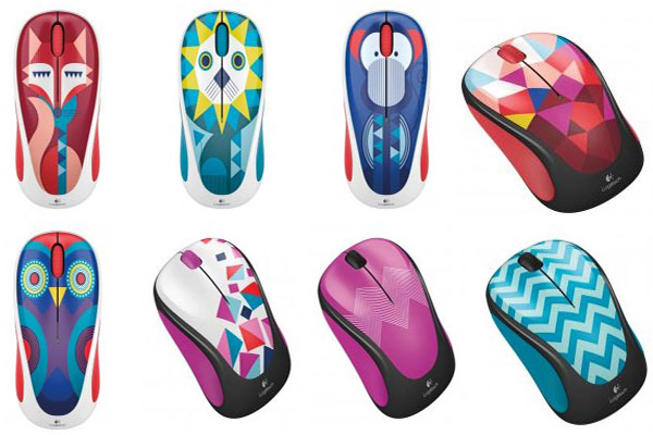 Logitech's new M238 Wireless Mouse designs are colorful, look like
