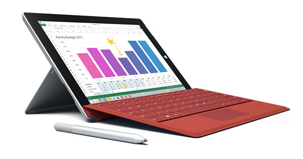 There are firmware updates for the Surface 3, Surface Pro 2