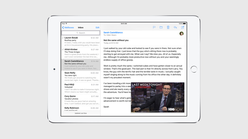 how to get rid of split screen on ipad