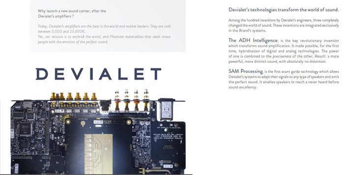 More than just the hardware, Devialet's technological edge comes from their patented audio technologies.