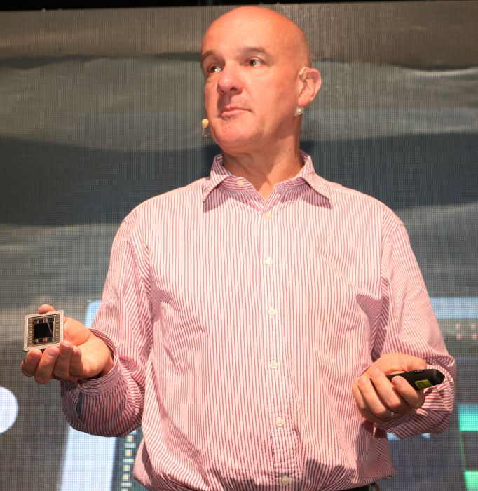 Richard Huddy, Chief Gaming Scientist, AMD, during the Malaysian launch of the Radeon R9 Fury X today.