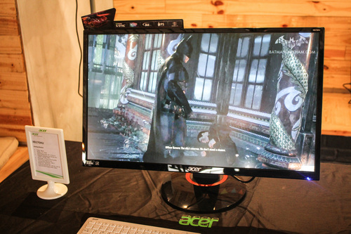 Acer's 27-inch XB270HU gaming monitor.