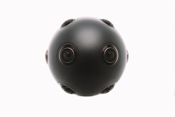 The Nokia OZO virtual reality camera for content creators.
