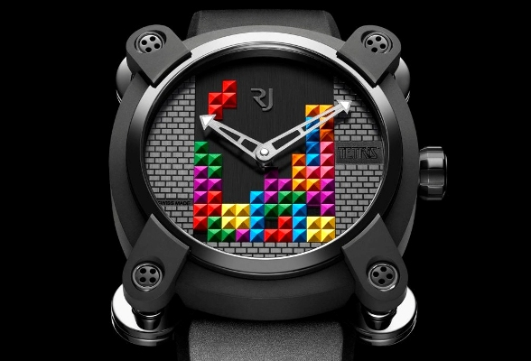 This Tetris watch will make you look classy instead of nerdy
