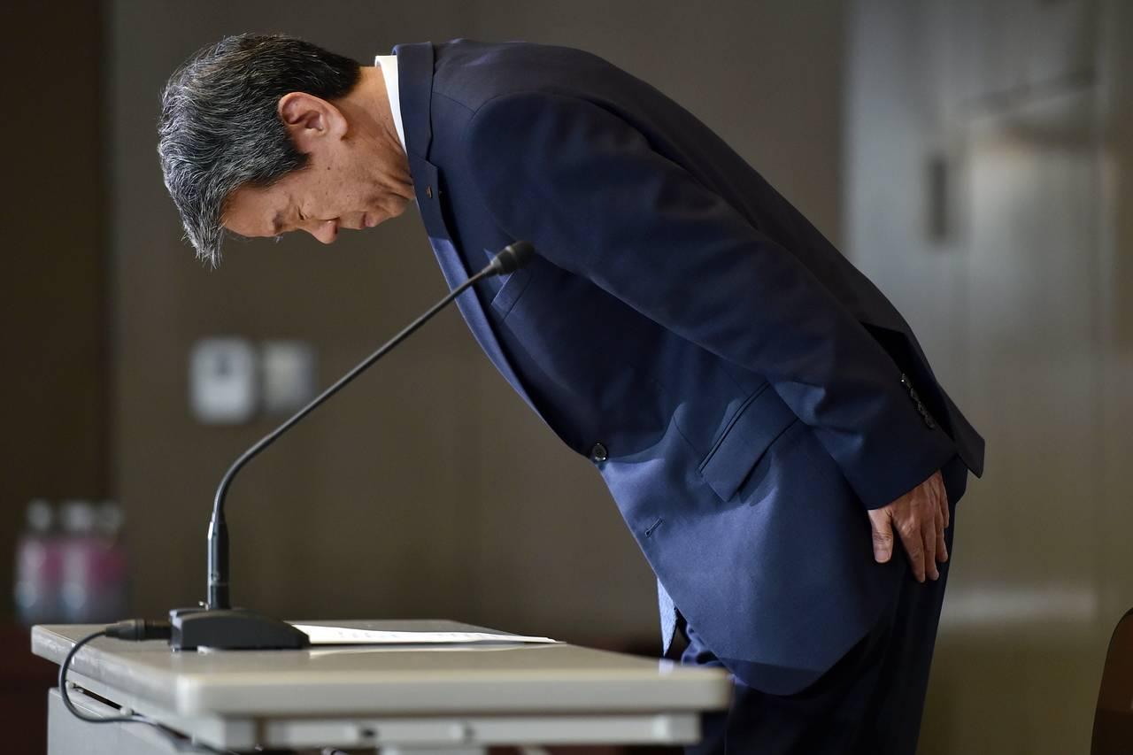 Toshiba scandal apology