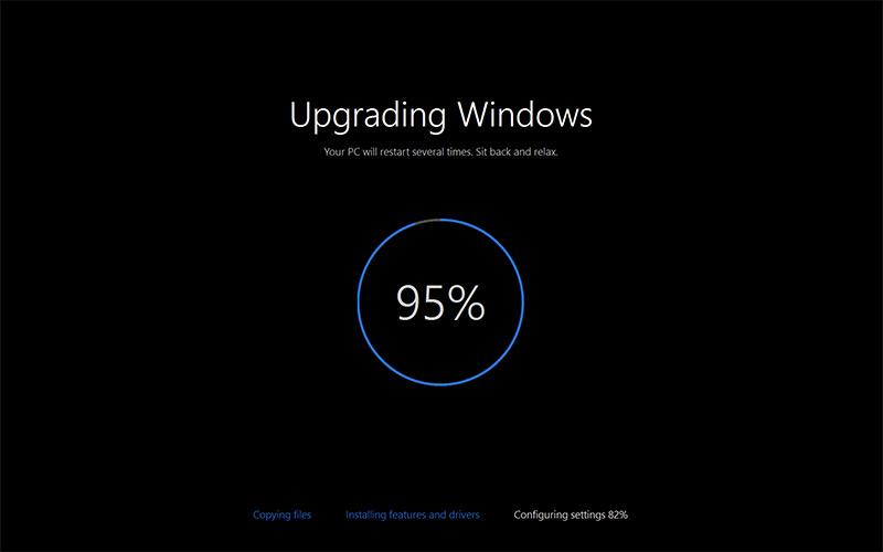 installing windows 10 a pictorial walkthrough
