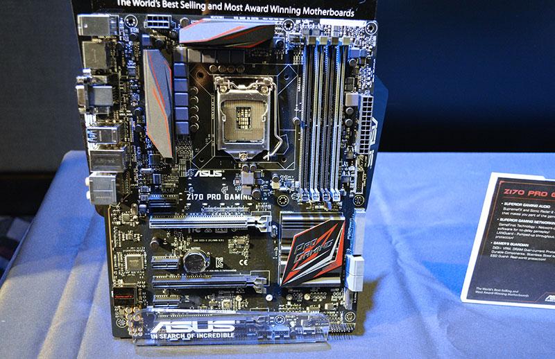 ASUS Z170 ROG and Pro Gaming series : ASUS' Intel Z170