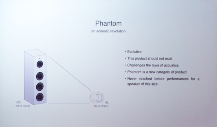 The engineering of the Phantom allows it to out-perform competitors that are larger in size.