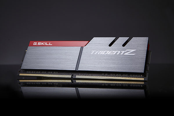 The Trident Z DDR4 memory series comprises the high-end of G.Skill's new memory line-up. (Image Source: G.Skill)