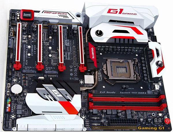 Gigabyte Z170 G1 Gaming. (Image Source: Maximum PC)