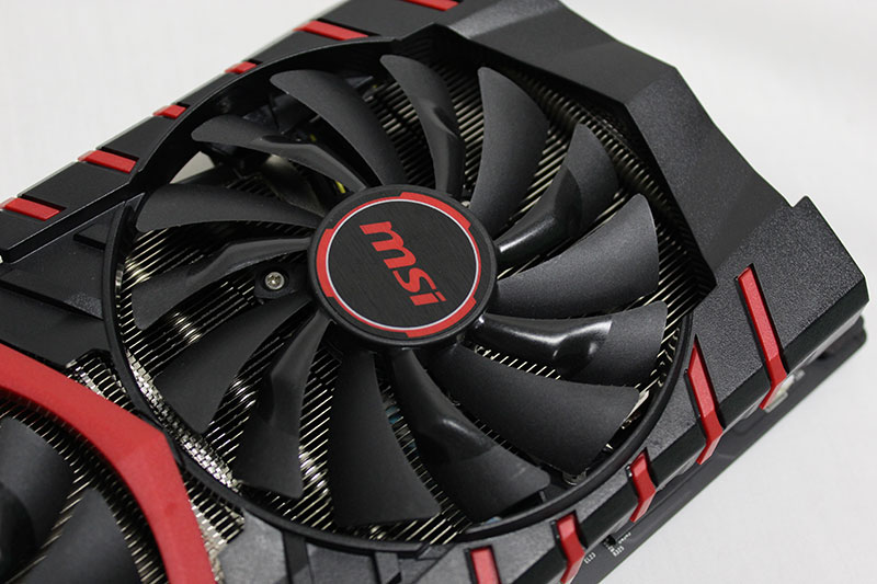 The 100mm Torx fans can spin independently of one another.