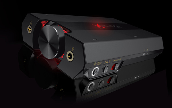 The Sound Blaster X G5 works with Creative's BlasterX Acoustic Engine to minimize distractions.