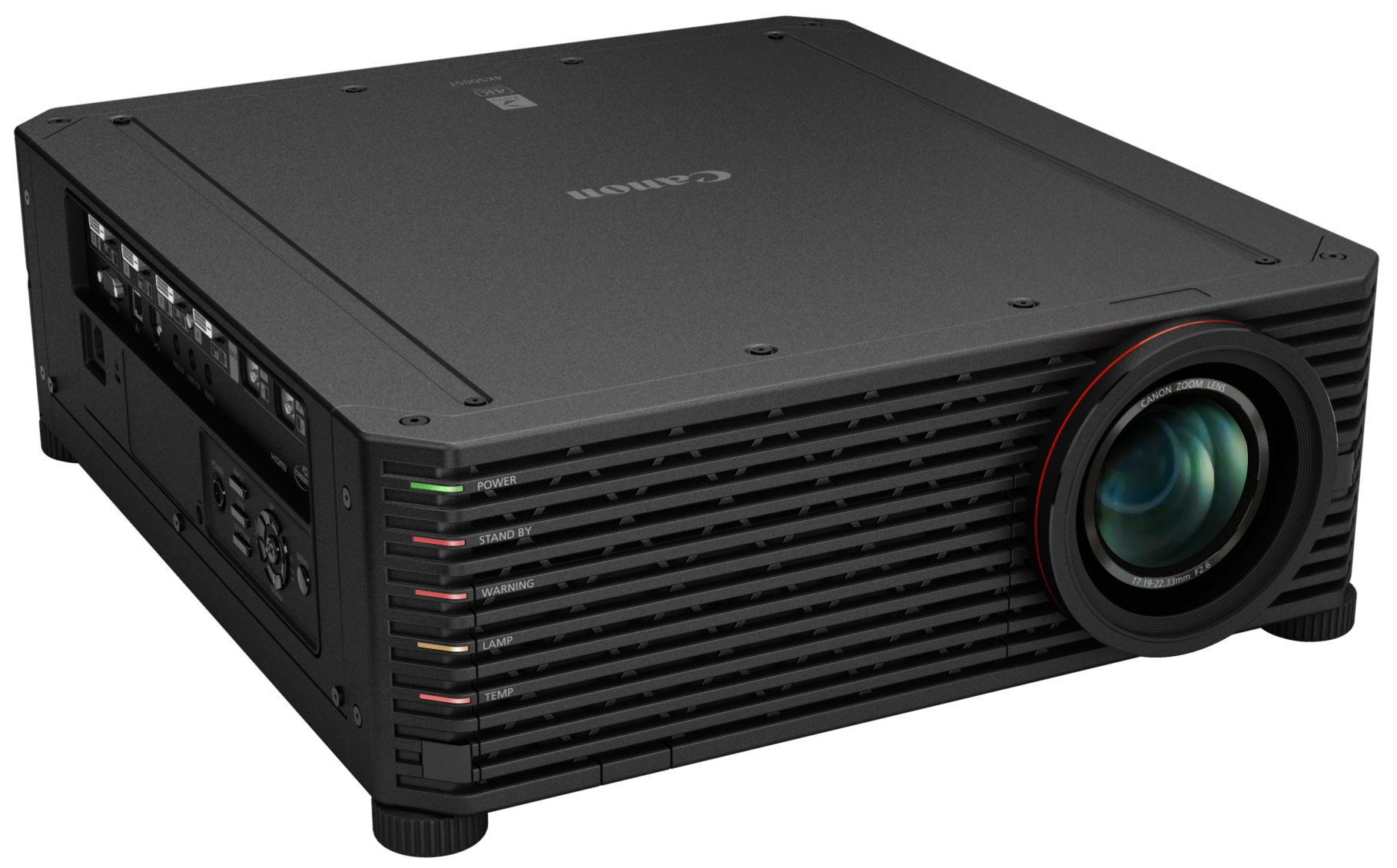 The in-development 4K resolution LCOS projector by Canon, which will be under the XEED lineup.