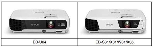 Projetor  Epson EB-U04 3LCD WUXGA
