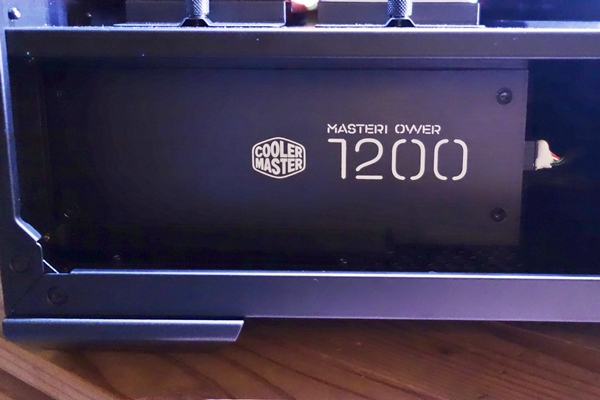 The Cooler Master MasterPower Maker is an fully modular 1200W PSU.