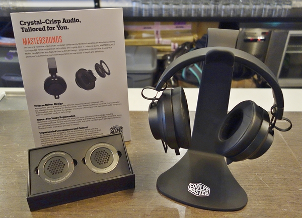 The MasterSounds is a pair of wireless headphones feature swappable modular dual drivers, called the Diverse Driver Design. The headphones also come with noise cancellation technology.