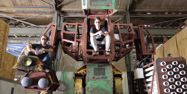 While it doesn't have the polish of their rival, it would make sense not to be on the wrong end of the Megabots Mk II.