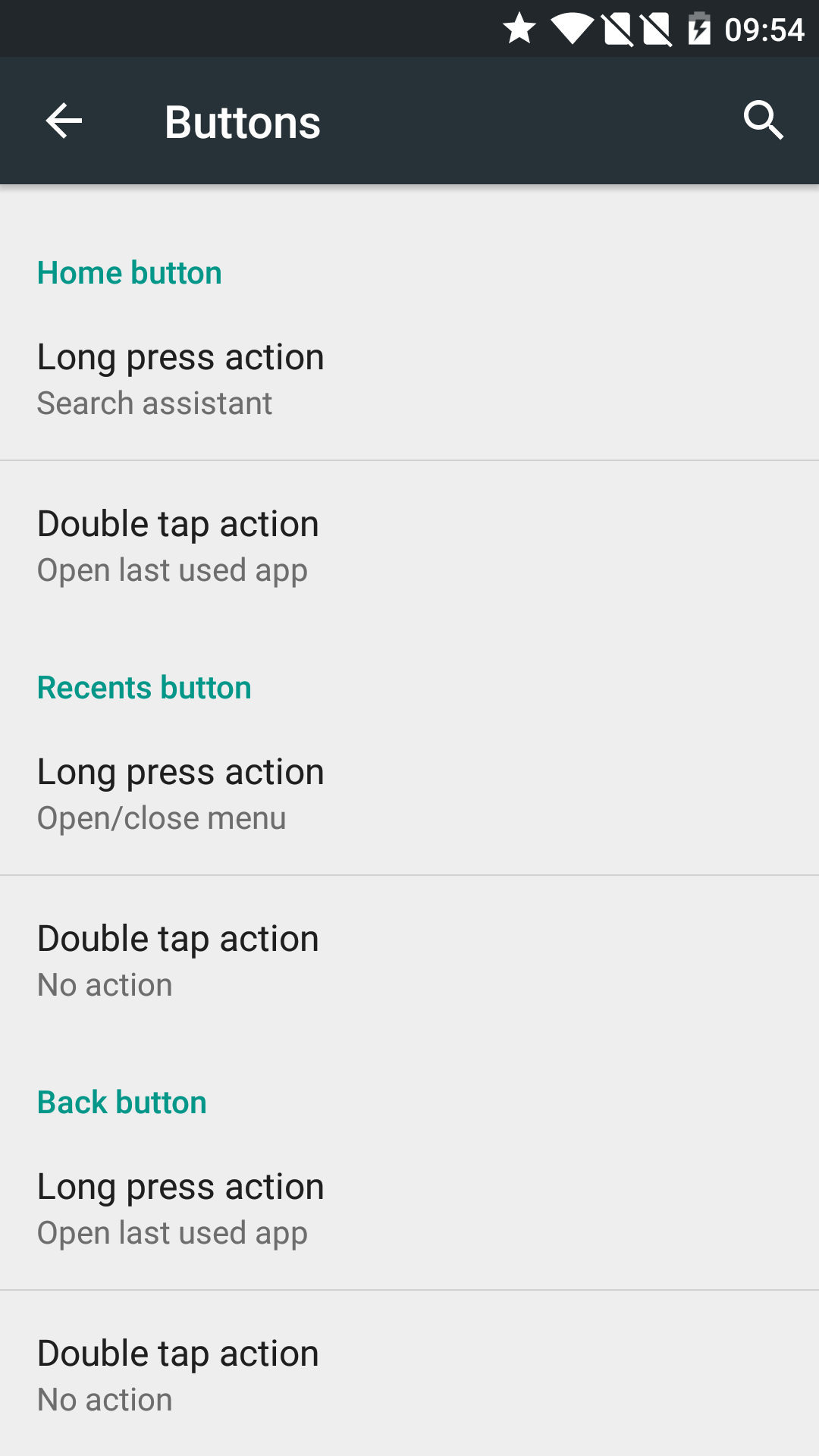 Home button customizing for OnePlus 2, among other tweak-ready options.