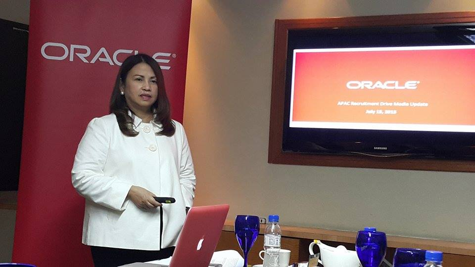Mina Lim, Country Managing Director of Oracle Philippines, discusses the workforce expansion plans of the company in the APAC region.