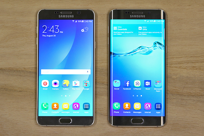 Samsung Galaxy Note 5 & S6 edge+: The best phablets in the ...