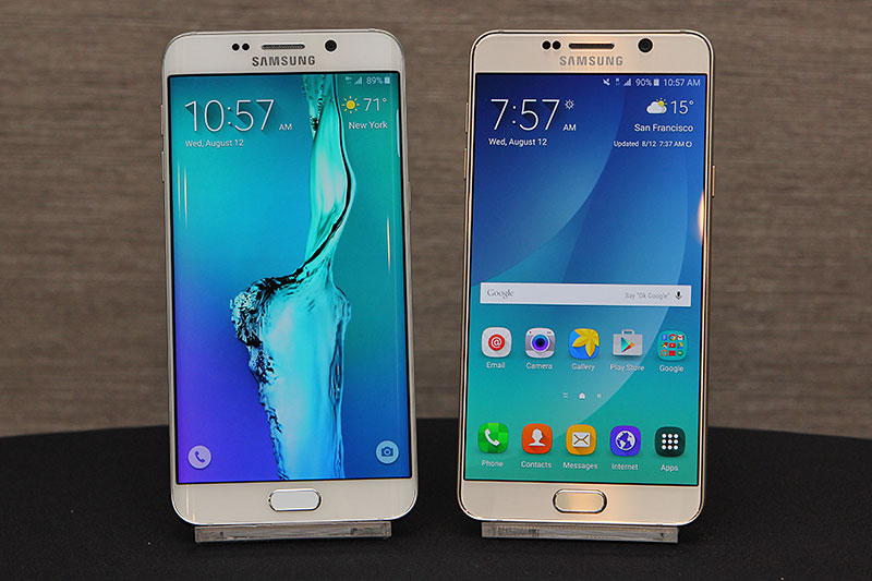 The Samsung Galaxy Note 5 and S6 Edge+ are official, and ...