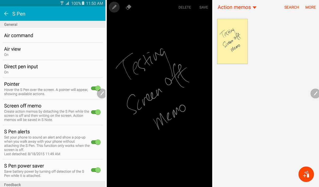 How To Convert Handwriting into Text with S Pen on Galaxy Note 5