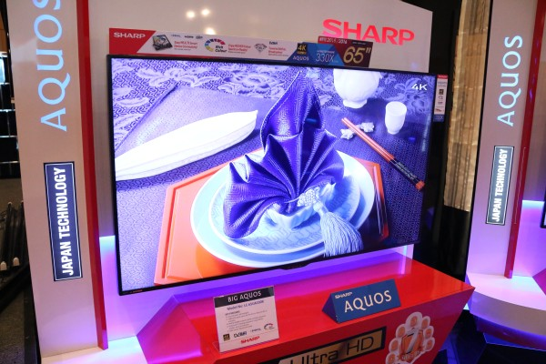 sharp 65 inch smart tv. sharp\u0027s ua330x series all ship out with 4k capability, but not android tv. sharp 65 inch smart tv l