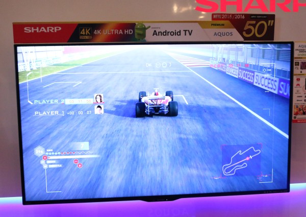 The 50-inch model from the UE630X Series. All TVs under the UE630X Series with Android TV.