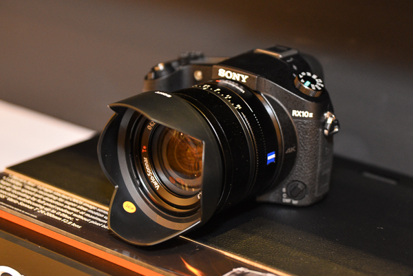 Pictured here is the RX10 II.