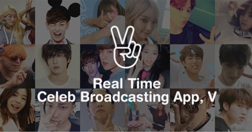 Gawk and gab about Korean celebs live with Naver's 'V' app