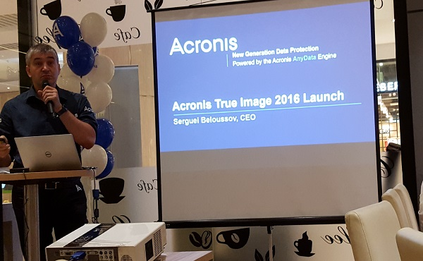 Acronis today launched its True Image 2016 and True Image Cloud backup software, with a slew of new features including mobile device backup and multiple device management.