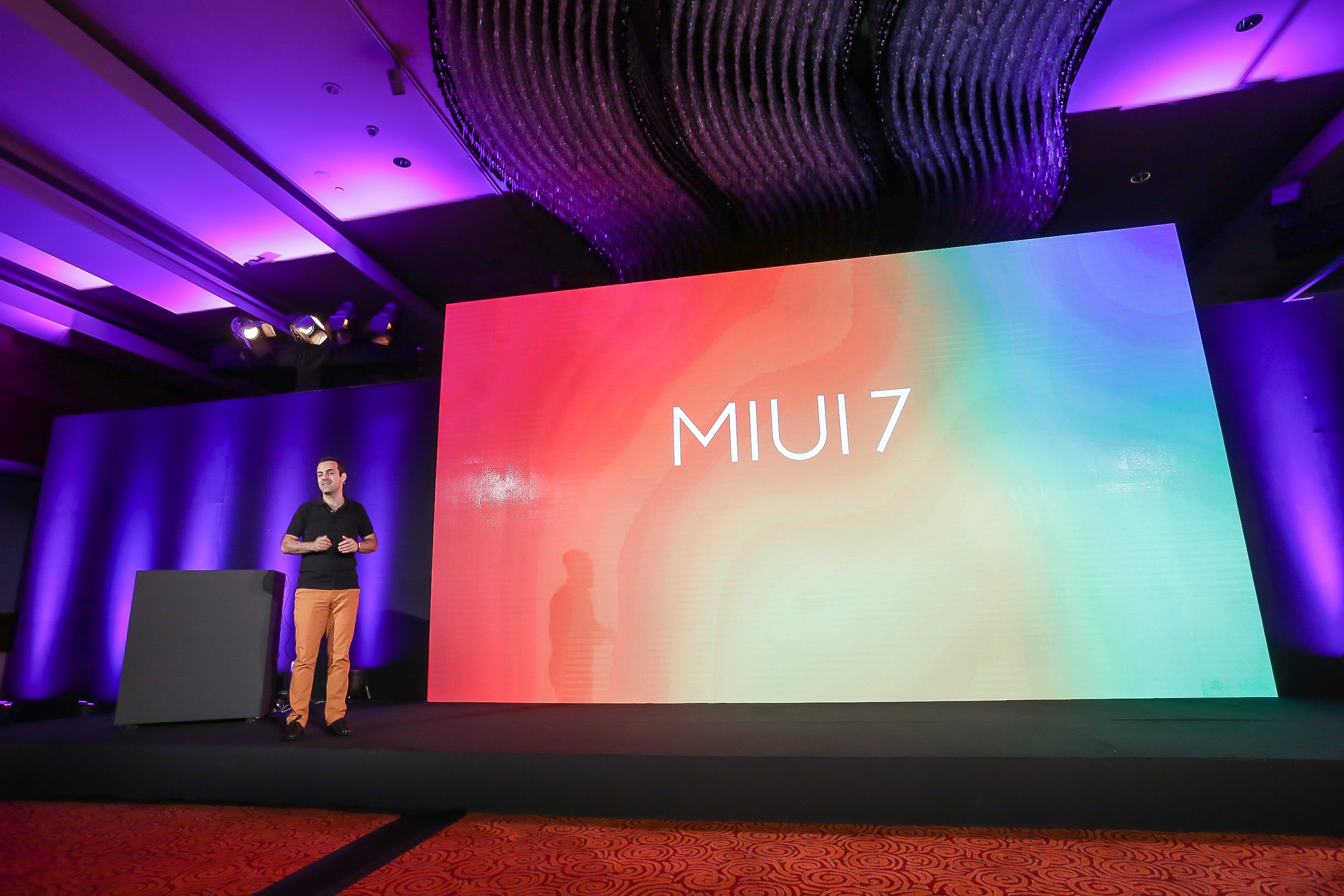 Hugo Barra, Vice President of Xiaomi Global talking about features of MIUI 7.