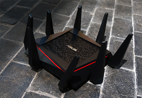 Antenna Router Asus Asus Introduces 8-antenna