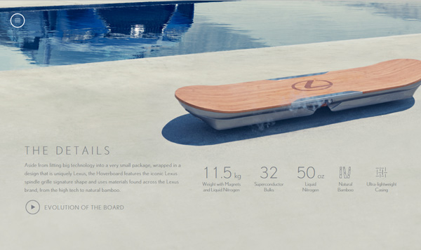 lexus adds the finishing touches to their branded hoverboard. Black Bedroom Furniture Sets. Home Design Ideas
