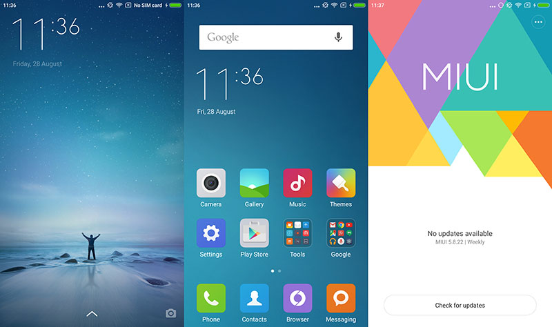 Xiaomi smartphones: Downgrading to MIUI 6 after installing