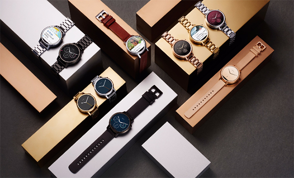 The new Moto 360 collection offers a wide variety of bezel and strap options, and you can customize to watch face to your liking as with any other Android Wear smartwatch. (Image Source: Motorola)