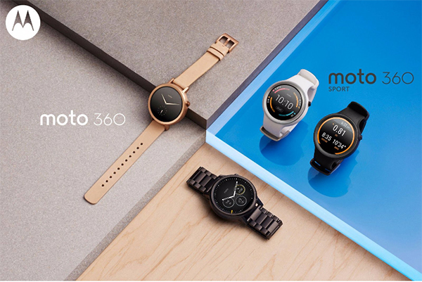 Motorola has unveiled a new Moto 360 collection at IFA 2015, complete with the Moto 360 Sport for fitness enthusiasts. (Image Source: Motorola)
