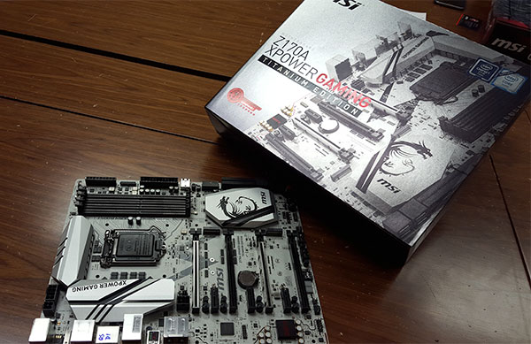 The MSI Z170A XPower Gaming Titanium Edition is targeted at overclockers.