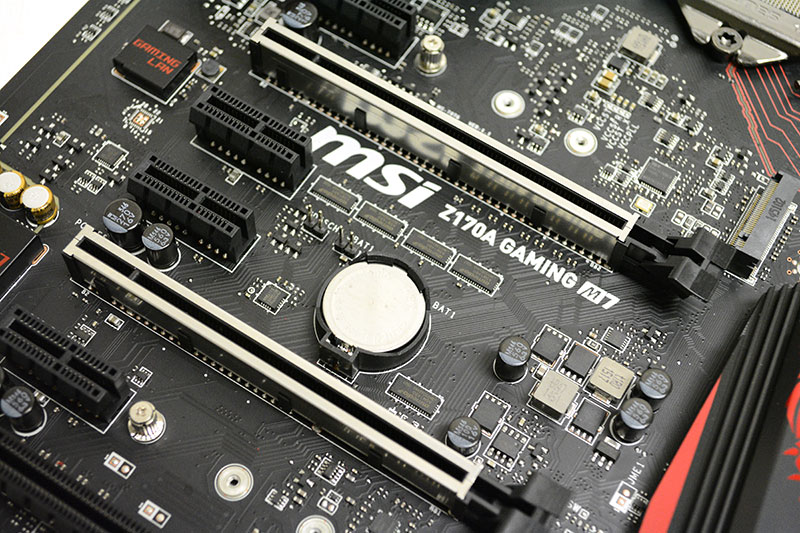 The first two full-length PCIe 3.0 slots have been structurally reinforced to support the strain of heavy graphics cards.