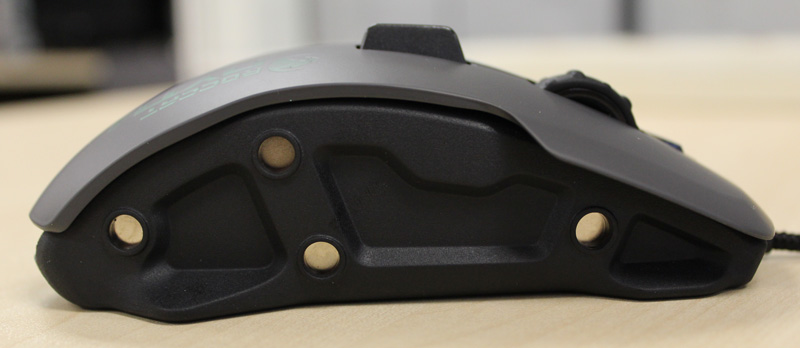 The sidegrips are held in place by strong magnets and won't slip off during heated gaming moments.