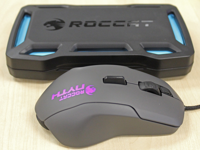 The Nyth might bill itself as a jack of all trades mouse, performing well in any genre.