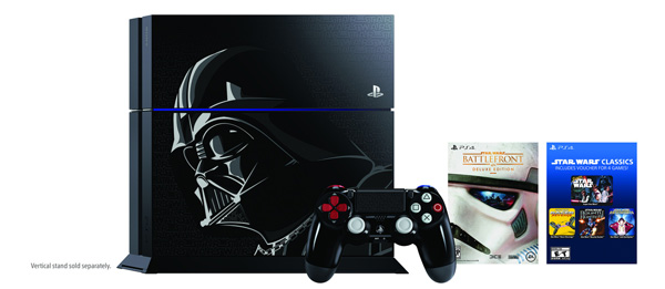 The bundle will be in stores November 17 and goes for $599. Pre-orders start on October 23.