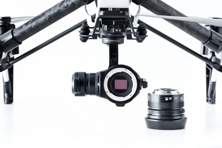 The Four Thirds sensor. Image Source: DJI.