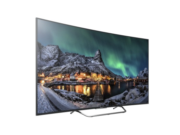Sony will be unveiling their new BRAVIA S85C and S80C Curved 4K LCD TVs during IFA 2015. Pictured here is the S80C.