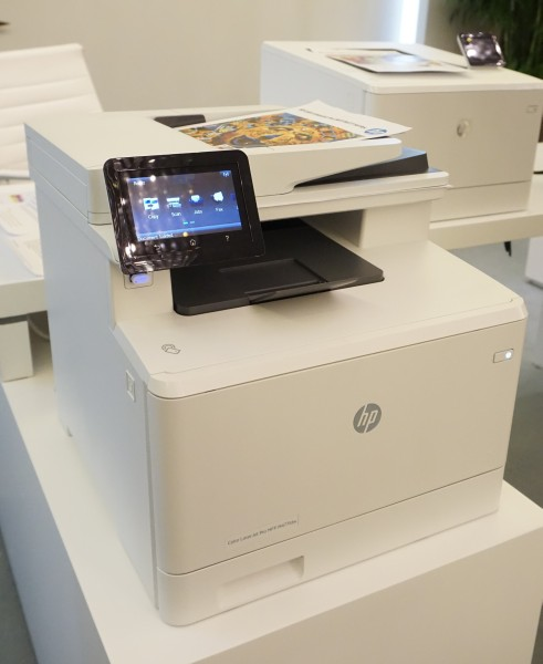 hp tightens up personal security with their new laserjet printers. Black Bedroom Furniture Sets. Home Design Ideas