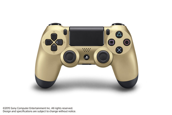 Gold is among the new colors announced. We think it looks classy without being too over the top.