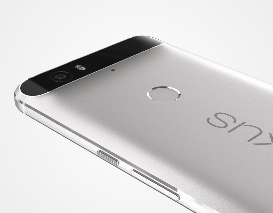 Huawei Nexus 6P, with it's all-metal body.