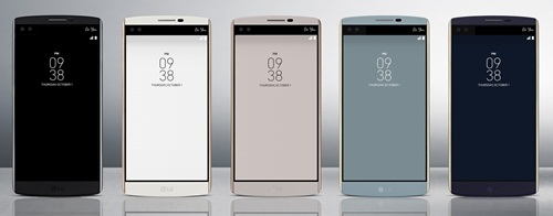 The V10 with a fingerprint sensor could be the first LG smartphone to support the mobile payment service.