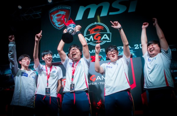 Team MVP Black won the title of grand champions for Heroes Of The Storm at the MSI MGA 2015 Grand Finals.
